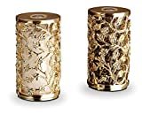 L'Objet Lorel Spice Jewels Gold Salt & Pepper Shakers