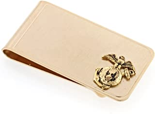 product image for JJ Weston Marine Corps Money Clip. Made in the USA.