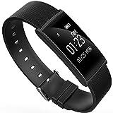Huaker Smart Band Operating Manual Activity Tracker : Heart Rate Monitor Wireless Bluetooth Smart Wristband Bracelet - Waterproof Fitness Watch (Black)