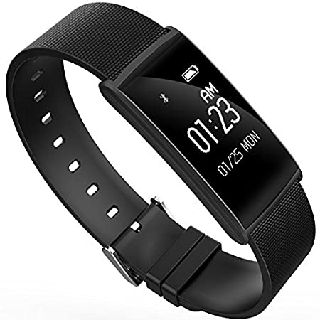 Amazon.com : N108 Smart Band Blood Pressure Oxygen Watch Heart Rate Monitor IP67 Smart Fitness Bracelet Pedometer Wristband for IOS Android (Black) : Sports ...