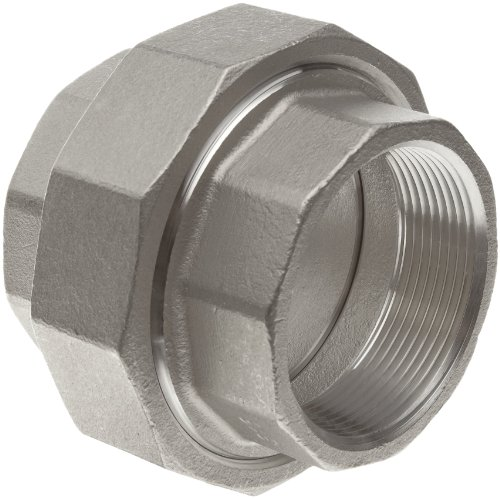 Stainless Steel 316 Cast Pipe Fitting, Union, MSS SP-114, 3/8