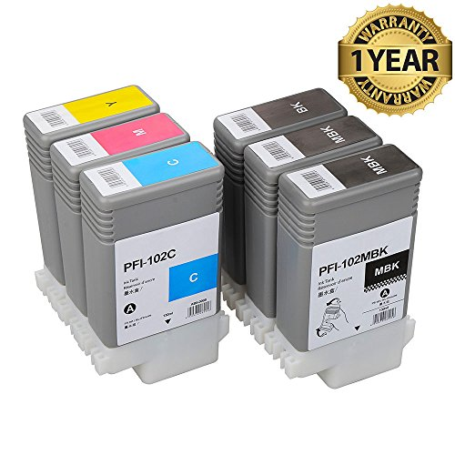 PFI102 Compatible Replacement inkjet cartridge suitable f...