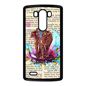 Newspaper Elephant Music Note and Elephant accessories LG G3 Case
