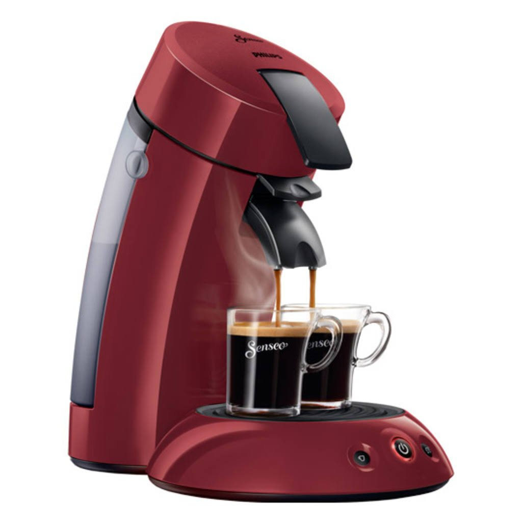 Philips Senseo HD 7810 90 - Cafetera monodosis, color rojo: Amazon ...