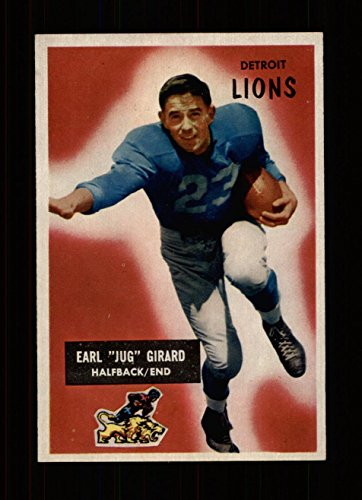 - 1955 Bowman Football #015 Jug Girard STARX 7 NM (CS30789)
