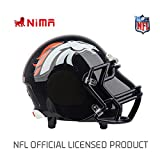 NIMA Portable Bluetooth Speaker, NFL Football Helmet Stereo Small(Entry-Level) Wireless Speaker with Built-in Mic, Hands-free Call, LOUD HD Sound and Bass – Denver Broncos