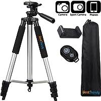 BestTrendy 42-inch Portable Aluminum Camera Tripod,...