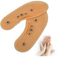 Palmilhas magnéticas para homens Mulheres Pontos de acupuntura Massageando sapatos Almofadas Respirável Cura do pé Odor…