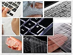 DHZ® ULTRA Thin Transparent Keyboard Cover Soft TPU Skin for MacBook Pro 13\