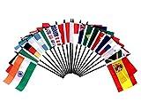 G-20 (Group of 20) World Flag Set with BASE-20