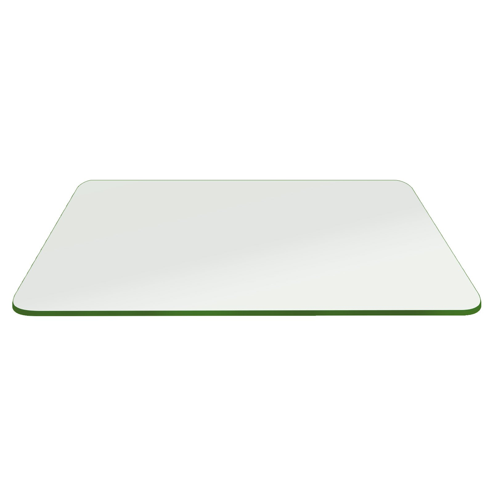 Fab Glass and Mirror 16x24RECT10THPETE-T Rectangle Tempered Glass Table Top, 16'' x 24'' by Fab Glass and Mirror (Image #1)