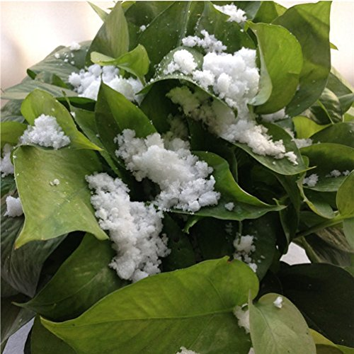 LIANTSH Artificial Snow Flakes Decoration - Instant Flutty Snow powder Magic Snowdrop Flowers - for Kids Children Play,Festivals of Chiristmas,Wedding,Teatre,Dance,Music Decor - 0.35oz (100) by LIANTSH (Image #6)