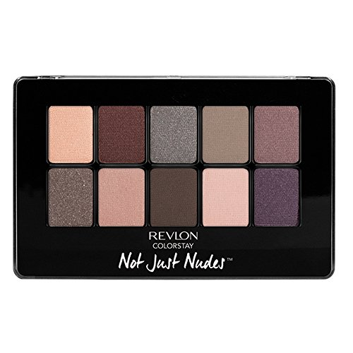 Revlon ColorStay Not Just Nudes Shadow Palette, Romantic Nudes ()