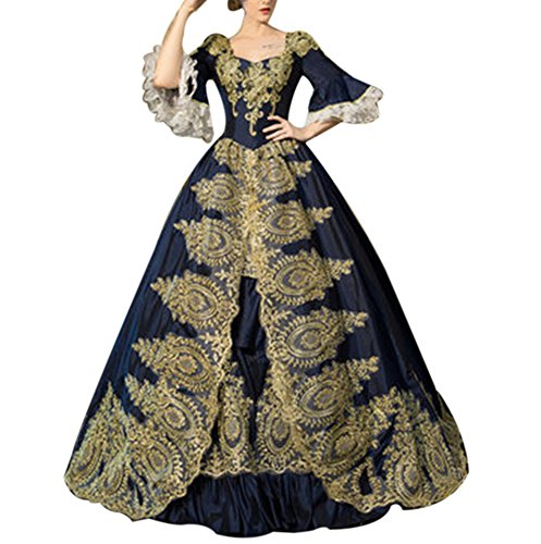 Royal Opera House Costumes Department - ROLECOS Womens Royal Retro Medieval Renaissance