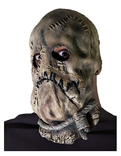 Scary Scarecrow Costumes (Rubie's Men's Batman The Dark Knight Scarecrow Mask, Multi, One Size)