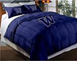 The Northwest Company NCAA Washington Huskies Twin/Full Size Comforter with Sham Set
