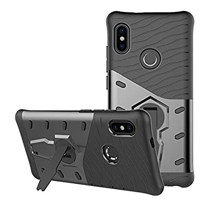 quality design 83f4c d3b10 FIRETALK Redmi Note 5 Pro Sniper Series Full Protection With Stand Back  Cover (Black)
