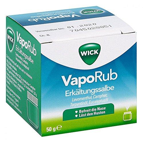 WICK VapoRub Erkältungssalbe, 50 g [Badartikel]