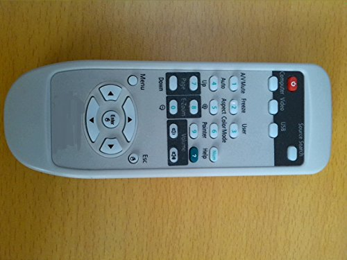 Brand New ELECTRON Top Quality General Universal Compatible Replacement Projector Remote Control Fit For EPSON EMP-X5 EMP-S5 EMP-62 Projector 199 Days Warranty by Electron