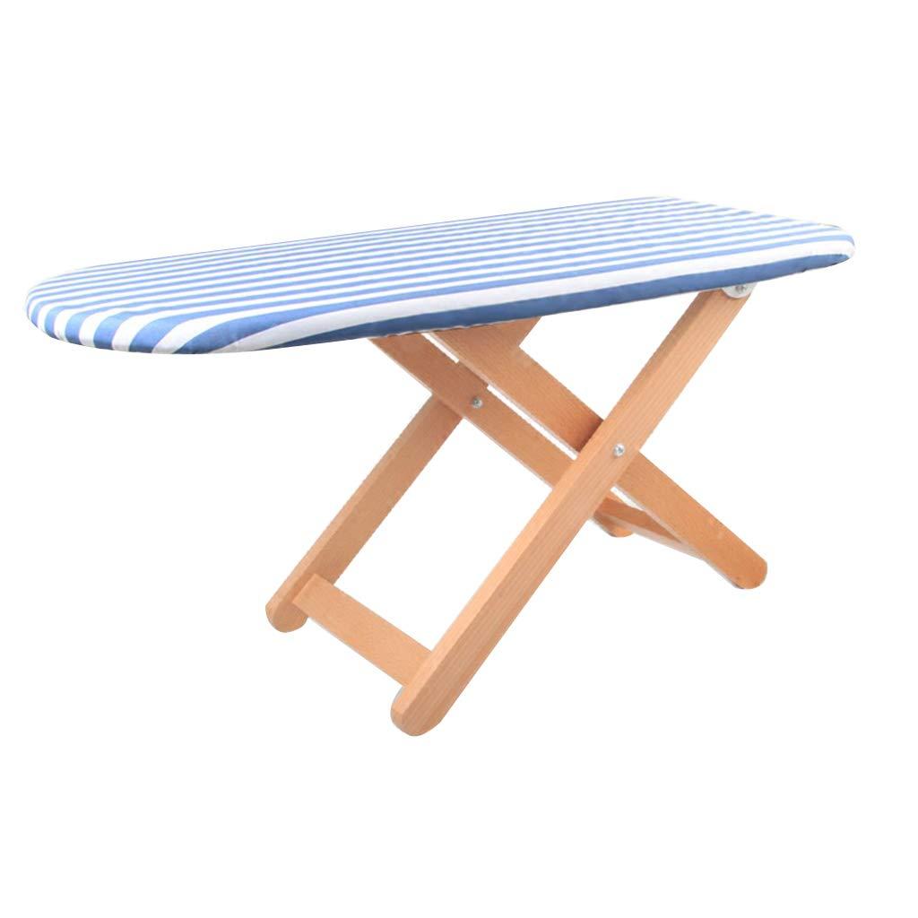 アイロン台ホーム折りたたみ純木小型アイロン台ミニ折りたたみアイロン台ラップトップテーブル (Color : Blue, Size : 80x37x40cm) B07MBYTFFW Blue 80x37x40cm