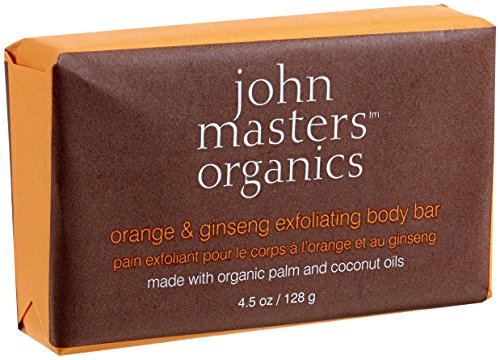 John Masters Organics Orange & Ginseng exfoliant Body Bar 4,5 oz / 128 g