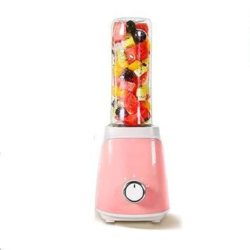 XG-Household Exprimidor casero Fruta pequeño automático de Frutas y hortalizas Multifuncional Mini Estudiante máquina de Jugo Frito sandía: Amazon.es