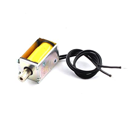 sourcingmap® 3V 2mm 50g Pull Type Linear Motion DC Solenoid Electromagnet  Actuator