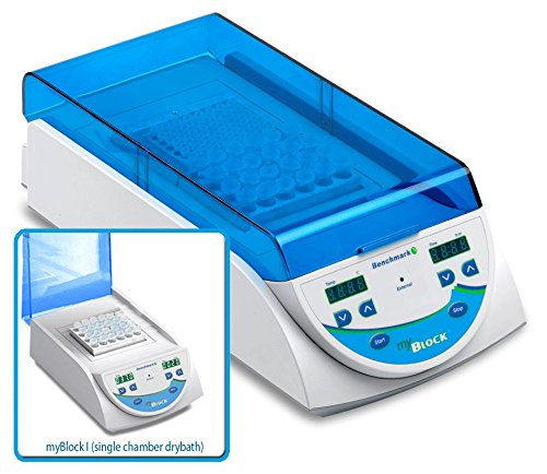 Benchmark - myBlock l - digital dry bath, single chamber, without blocks,
