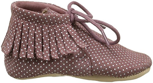Easy Peasy Meximoo Print - Zapatillas de casa Bebé-Niños Rosa - Pink (020 Plumetis Chamallow)