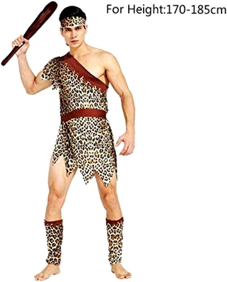 Pri02 - disfraz de hombre de las cavernas primitivo - primates ...