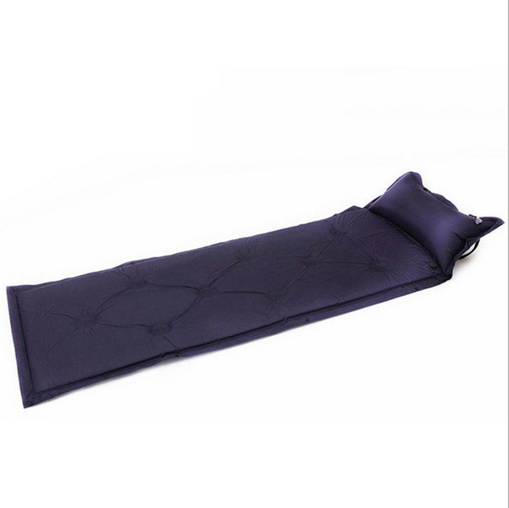Aufblasbares Bett HETAO Air Bed mit Kissen mit automatisch aufblasbaren Pads Outdoor kann Splice neun Löcher Air Kissen Bett 180  60  2,5cm Matratze