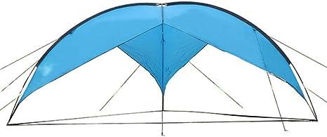 JW-DDP Súper Tienda Triangular Grande, Playa al Aire Libre Sombrilla Lluvia Camping Camping Barbacoa Pérgola Plegable: Amazon.es: Deportes y aire libre