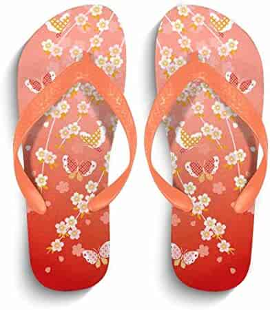 250cf4628aeadf Chad Hope Mens Comfortable Flip Flops Beach Sandals Anti-Slip Slippers