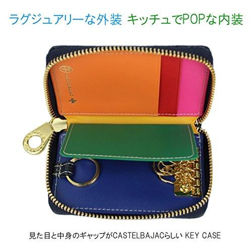 CASTELBAJAC RAINBOW Black key RAINBOW case CASTELBAJAC 079612 BwSaqwFd4