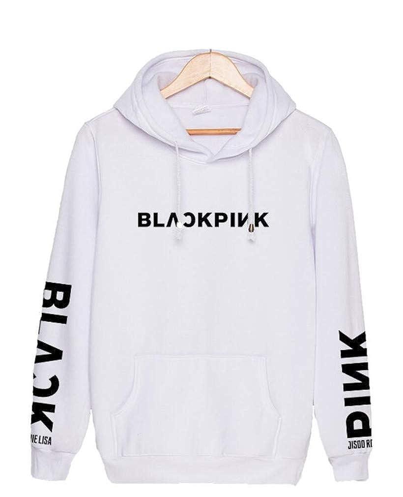 Youngate Kpop Blackpink Same Style Lisa Jennie Jisoo Hoodies Pullover Sweatshirt