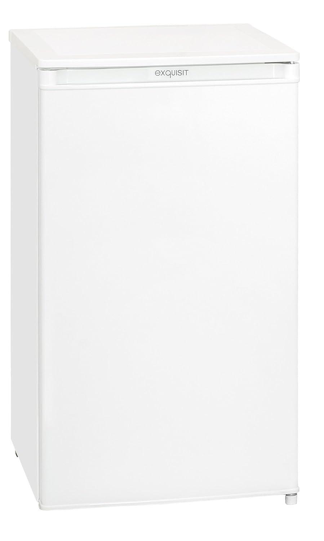 Exquisit KS 90-4.1 A+Top Kühlschrank/Nutzinhalt Kühlfach 63 Liter/Eisfach 9 Liter/EEK: A+ KS 90-4 A+ Top