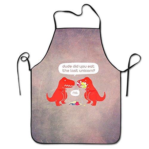 The Dude You Eat The Last Unicorn T-Shirt Dinosaurs Clothing Files Black Bib Kitchen Apron Cooking Apron Chef Aprons Apron For Women And Men Coffee Mug Bib