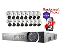 iCare 32 Channel 3MP Package: 32 Channel NVR W/3TB HDD 16POE and 16 x 3MP Indoor/Outdoor Dome Camera, 2 years warranty, Local Support