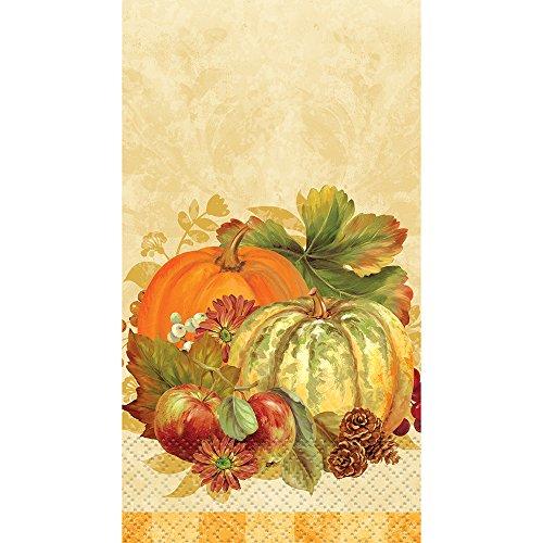 Pumpkin Harvest Paper Guest Napkins