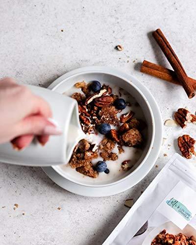 Lollis granola baja en carbohidratos, amigable con los ...