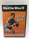 KettleWorX Fast Fat Burn Fast, Fun, 10-Minute Workouts DVD