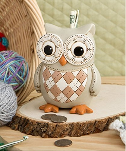 - Baby Owl Savings Bank By Fashioncraft