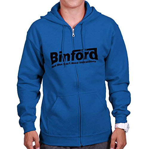 Brisco Brands Binford Home Improvement Funny Shirt Cool Tim Allen Toolman Zipper Hoodie