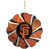 MLB Geo Spinner Ornament MLB Team: San Francisco Giants