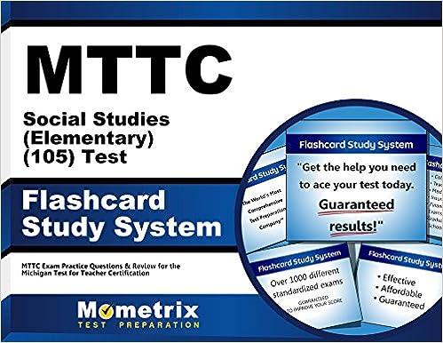 MTTC Social Studies (Elementary) (105) Test Flashcard Study System ...