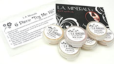 Amazon.com: Kit de maquillaje por la minerales Valley Girl 6 ...