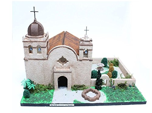 California Mission Model Kit San Carlos Boromea de Carmelo (Mission Santa)
