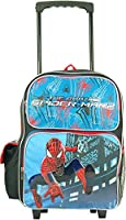 """Marvel the Amazing Spiderman Large 16"""" Rolling Backpack"""