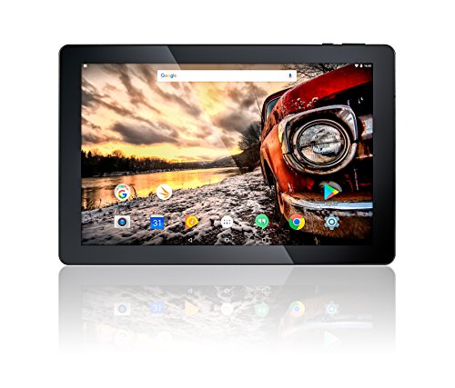 10.1″ Fusion5 Android 7.0 Nougat 32GB 104+ Tablet PC – (MediaTek Quad-Core, GPS, Bluetooth 4.0, FM, 1280*800 IPS Display, Google Certified Tablet PC) – Dec 2017 Release (32GB)
