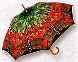 Tiffany Dragonfly Fine Art Full-Size Stick Umbrella